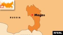 Russia -- Ingushetia map
