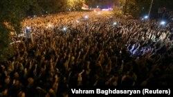 Массовые протесты в Ереване 2 октября