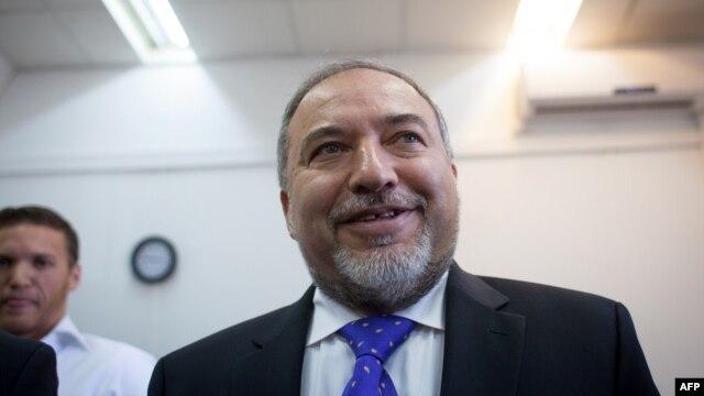 آویگدور لیبرمن رهبر حزب راستگرای «اسرائیل خانه ما».