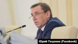 Юрий Гоцанюк на заседании подконтрольного России правительства Крыма, 13 мая 2020 года