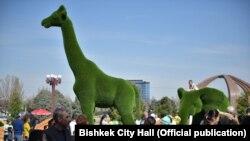 Фото мэрии города Бишкека.