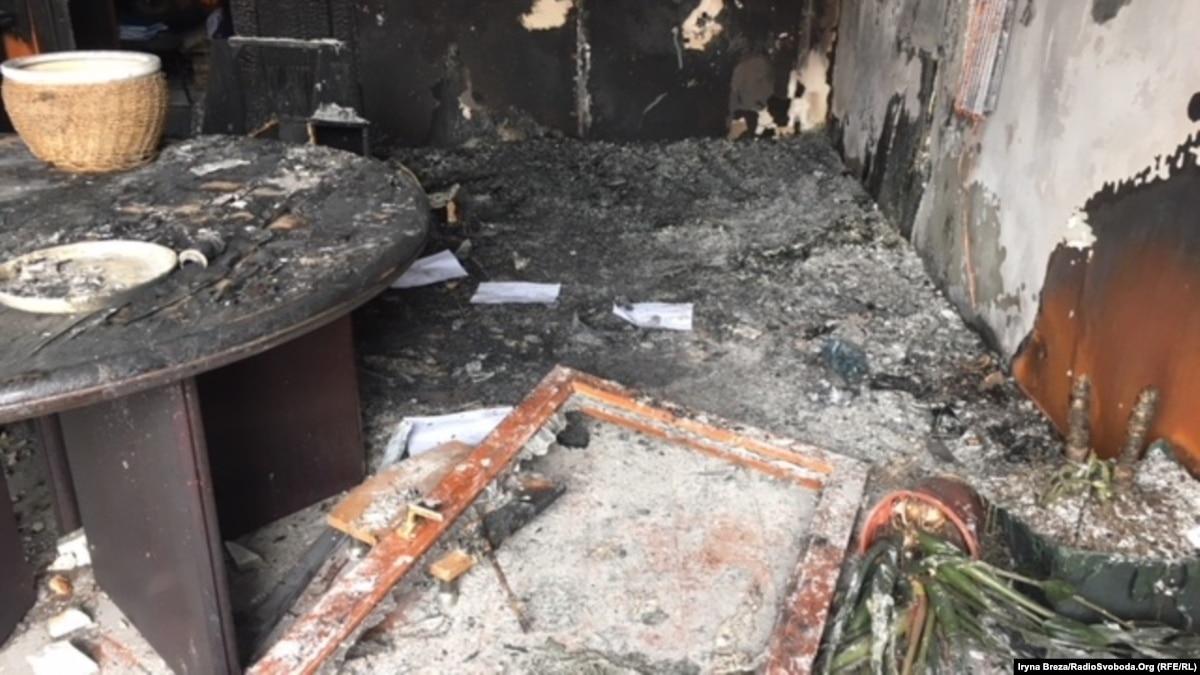 До поджога в Ужгороде может быть причастен прокремлевский немецкий журналист