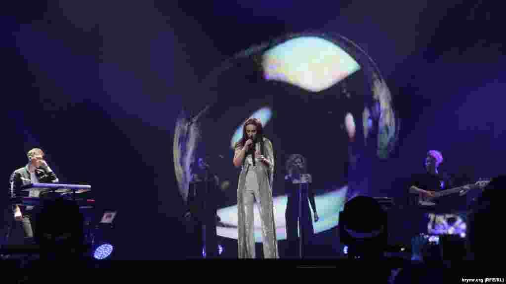 Кримчанка Джамала виступила із сольною програмою I Believe in U в Києві, 13 травня