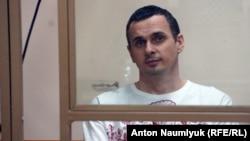 Олег Сенцов у суді 6 серпня 2015 року