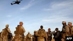 Ауғанстандағы АҚШ әскерилері. Гильменд уәлаяты. Көрнекі сурет