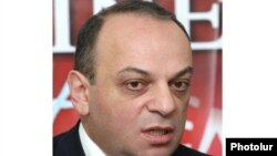 Бывший министр иностранных дел Нагорного Карабаха Арман Меликян