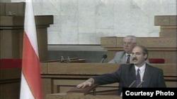 Першая інаўгурацыя Лукашэнкі ў 1994 годзе, архіўнае фота