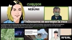 """În acest episod al comicsului Cuibușor de Nebunii, la Andreeana Borsh ajunge Vlad Plahotniuc. """"Ajunge"""" e un fel de a spune. Pentru că de fapt este foarte departe."""