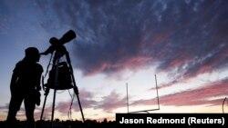 Солнечное затмение в штате Орегон, 21 августа 2017 года.