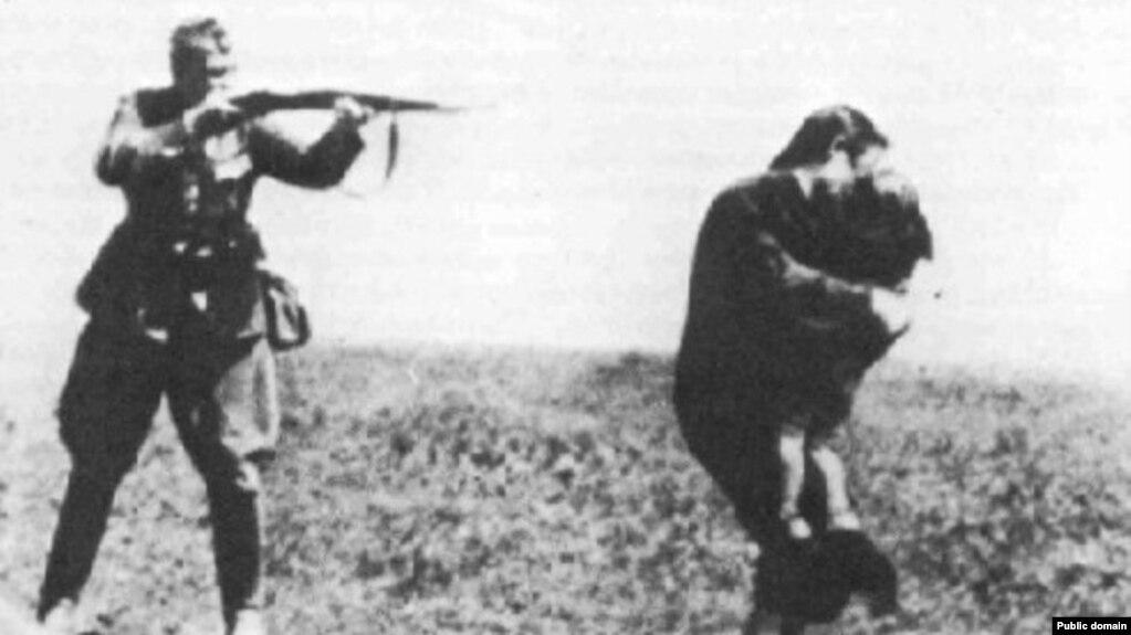 Расстрел еврейской семьи, Киев, 1941 год