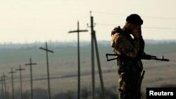 از سربازان اوکراینی.