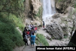 Efforts are being made to attract more tourists to Arslanbob's ancient woodlands.