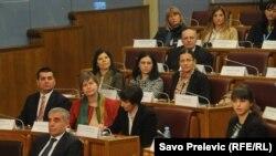 """Sjednice """"Ženskog parlamenta"""" uoči Međunarodnog dana žena, Podgorica, 6. mart 2015."""