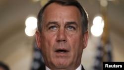 Kryesuesi i Dhomës Përfaqësuese, John Boehner.