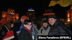 Первые дни Майдана