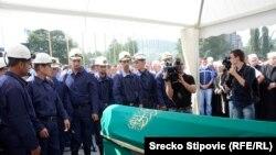Zenica: Ispraćaj poginulih rudara