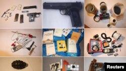 Mjetet e konfiskuara nga policia polake