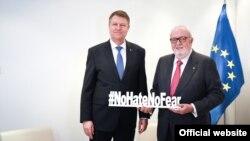 Cu Pedro Agramunt, președintele Consiliului European