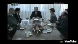 Фрагмент од документарците за независноста на Македонија.
