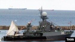 jedan od brodova ruske baltičke flote