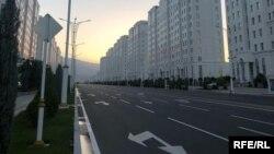 Проспект Независимости Туркменистана, Ашхабад, 31 марта, 2020