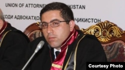 After defending officials from an opposition party, Tajik lawyer Buzurgmehr Yorov was himself convicted on terror-related charges. (file photo)