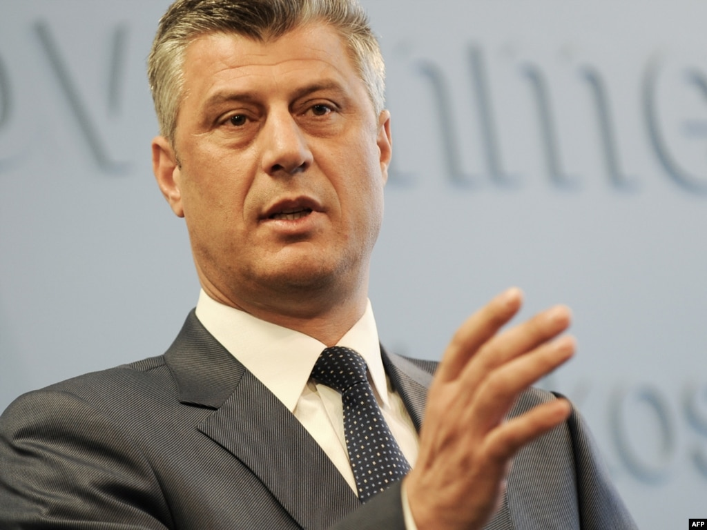 Hashim Thaci Kosovo Kosovo Leader Hashim Thaci