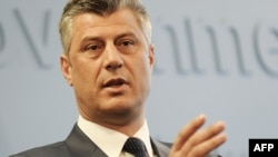 """Kosovo's Prime Minister Hashim Thaci: """"The Kosovo Liberation Army (UCK) waged a just and clean war for freedom and independence."""""""