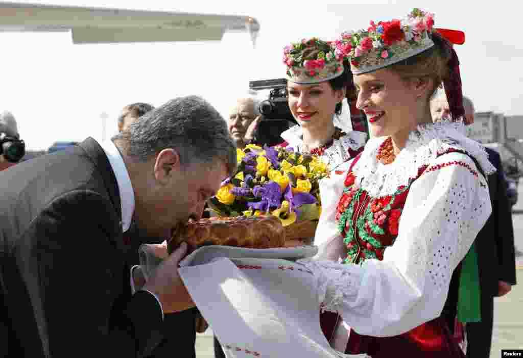 Украина президенти Петр Порошенко