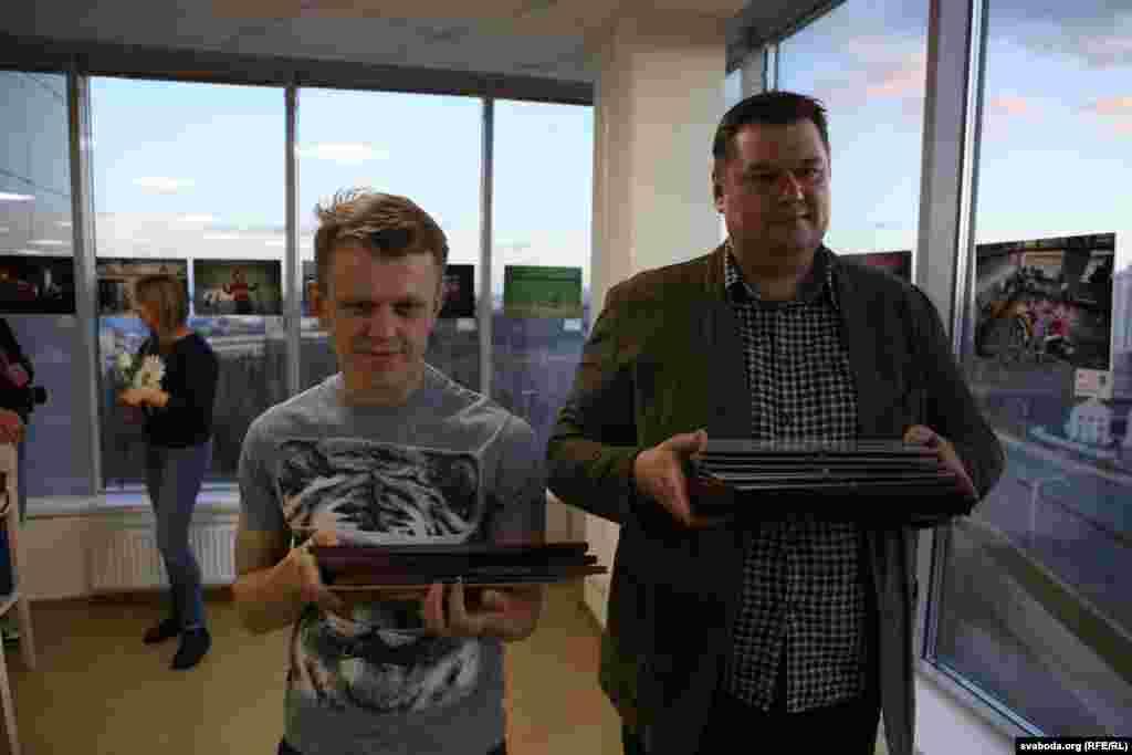 "Belarus - Awarding ceremony of the competition ""Press-Photo Belarus"", Uladz Hrydzin, Minsk, 16Apr2015"