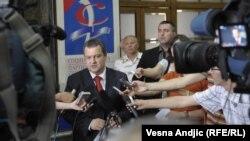 Ministri i Brendshëm serb, Ivica Daçiq - foto arkiv