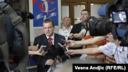 Kreu i Partisë Socialiste Serbe, Ivica Daçiq - foto arkivi