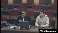 Mevlid Jašarević pred sudom, 13. novembar 2013.