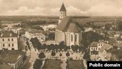 Касьцёл Найсьвяцейшай Панны Марыі, вядомы як Фара Вітаўта, Горадня, 1930-я гады