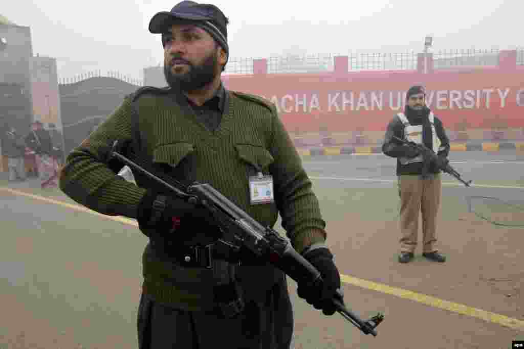 Bacha Khan University remains closed after the attack.