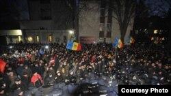 Protestele de la Chișinău (foto: Constantin Grigoriță)