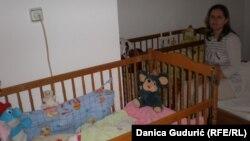 Najviše voli da čuva bebe: Kadrija Ćelović