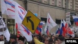 Антифашистский марш. Дмитрий Дубровский: «Самая главная проблема, на мой взгляд, это именно то, что имеется одинаковое нигилистическое отношение к праву как среди преступников, так и среди милиции»