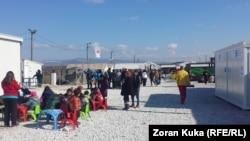 Кампот Винојуг на македонско - грчката граница.