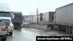 Кыргызско-казахская граница, 7 января 2020 г.
