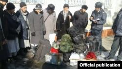 Инкарцы, задержанные в Аксыйском районе Джалал-Абадской области Кыргызстана в 2017 году.