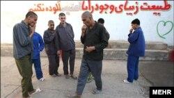 یک مرکز ترک اعتیاد در سنگبست مشهد