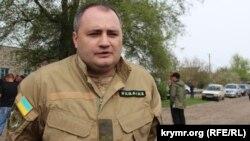 Начальник Генической полиции Андрей Лещенко