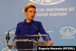 Марія Захарова, речниця Міністерства закордонних справ Росії