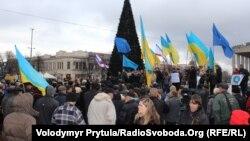 Мітинг «Євромайдан-Крим», 7 грудня 2013 року