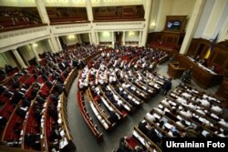 Засідання Верховної Ради. Київ, 25 грудня 2014 року