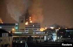 """Нападение на """"Дом прессы"""" в Грозном. 4 декабря 2014 года"""