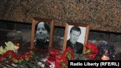 Место убийства Маркелова и Бабуровой