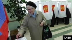 Москва, выборы, 11 октября 2009 года.