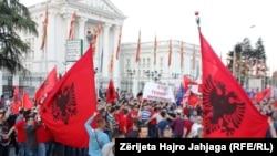 Albanska etnička zajednica je druga po veličini u Makedoniji (...). Naš primarni državni interes je da obezbedimo unutrašnje jedinstvo bez kog naša država ne bi mogla da opstane: Maleski